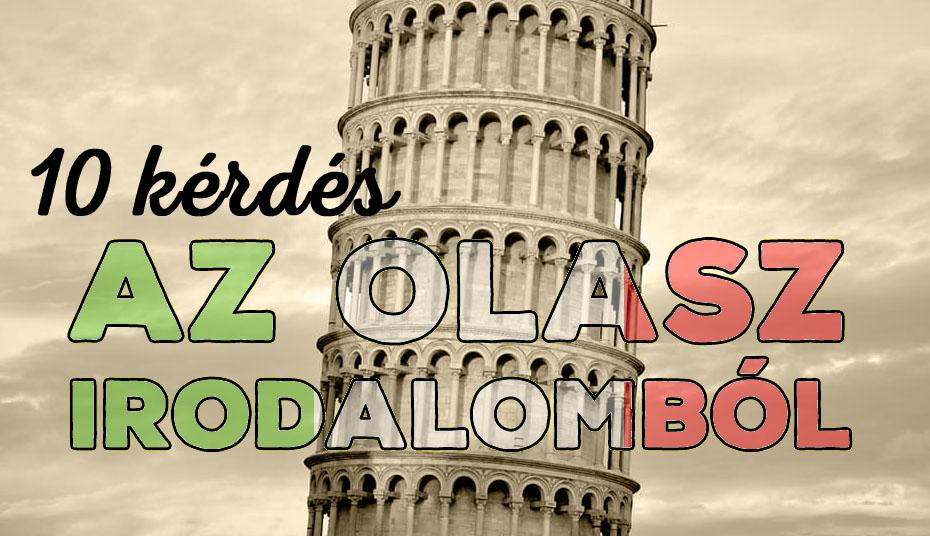 olasz irodalom